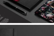 * stationary and graphic design * / Stationary and graphic design ideas