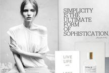 * simplicity * / elegance and simplicity