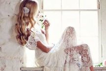 Bridal Look / Vestidos, peinados, maquillajes/ Gowns, hairdoes, make-up...