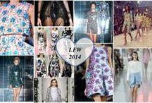 LFW 2014 / Favourite looks from London Fashion week 2014.