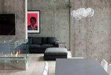 * concrete * / Concrete Interior and decor.