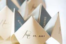 Stationery / Invitaciones y cartelería para bodas