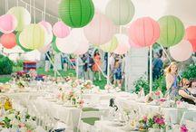 Spring Wedding Inspiration / Todas las ideas que encajen en una boda de primavera