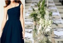Nothing beats Navy! / How to do a wedding with the color Navy!