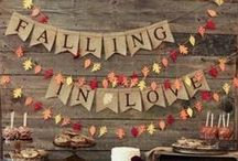 """Fall"" in love! / Some of our favorite fall wedding ideas for the perfect autumnal bride!"