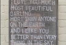words words words / by Maggie McKinney