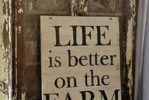 Farm Living is the Life for Me / by Marianne Guymon