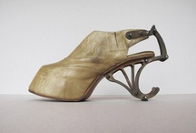 My Shoe Project / As an artist whose conceptual work evolves around women's issues with a feminist skew I will be developing a new series of stiletto sculptures involving my use of pins and needles with encaustic. 