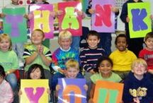 Appreciation All Around / Teacher and volunteer appreciation, gifts for students, and other ways to say thanks.