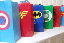 Superhero Themed Party / by Shannon Evans