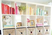 Home // Office / Stunning project inspirations and ideas for mini libraries and office spaces in the home.