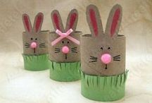 Easter / Hopping down the bunny trail with a basket full of clever crafts and inspirational ideas. / by The Mailbox