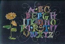 DIY | Art | Calligraphy | Letters / by Ve Rena