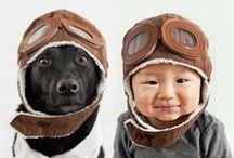 Dog & Tiny Humans