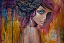 DIY | Art | Journaling&MixedMedia | FACES / by Ve Rena