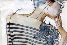 DIY | Art | Sketches | FASHION / by Ve Rena