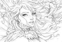 DIY | Art | Sketches | FAIRYTALES / by Ve Rena