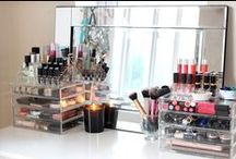 Let's Get Organized / For the girl who was WAY too much makeup, here are some brilliant ways to organize it!