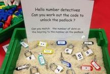 Learning My Numbers / Count on these ideas to make building number sense as easy as 1, 2, 3! / by The Mailbox