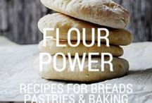 flour power | recipes for breads, pastries and baking. / recipes for breads, pastries and baking. / by Cooker and a Looker