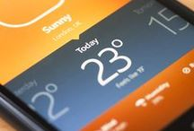UX | Weather Apps / by Susan Walsh