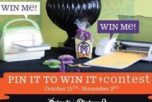 Cricut Halloween Projects / An inspirational collection of ideas for Halloween made using Cricut machines and cartridges!