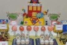 ee birthday party: super hero theme