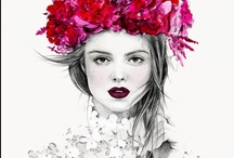 Hair Flowers + Flower Crowns