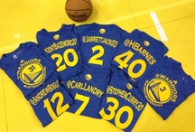Social Media Night 2013 / The Golden State Warriors and Esurance hosted the team's first Social Media Night on Saturday, February 2 during their game against the Phoenix Suns.  In addition to focusing on a wide variety of social media engagement for fans, Warriors players were the first in the NBA to wear shooting shirts featuring their personal twitter handles.