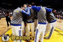 Dubs on Twitter & Instagram / Stay up-to-date with your Golden State Warriors players and coaches by following them on Twitter and Instagram / by Golden State Warriors