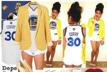 Gameday Style / Golden State Warriors fashion inspiration
