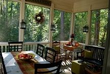 "Hanging Out On the ""Screened In Porch"" / by Carol Tanner"