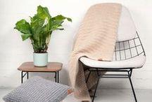 Interior Collection by Renske Versluijs / Designed by Renske Versluijs and handmade by our grannies