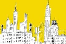 NYC / illustration from my memories in new york city.