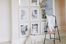 Brillo gallery wall