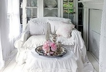 My First Love Shabby White / Romantic Shabby Chic White / by Finders Keepers Nevada NV