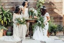 • featured wedding gowns • / gowns made for inspirations shoots and featured on various blogs