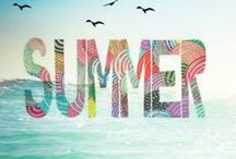 Seasons | Summer / Sunshine, warmth, time off, vacations, the gorgeous rich colors of nature and time to get outdoors for picnics and hikes, head to the beach, amusement parks, do some gardening or visit gardens and parks ...