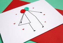 A Bryllupskort / Weddingcards