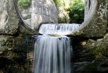 Falling Water / Waterfalls, Rain, Fountains, Water Wheels, Rainbows