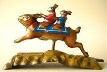 Rabbit Antiques - Fine Art / Rabbits are hares through the ages, antiques, fine art, museum pieces ...