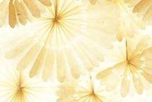 Color | Buttercream / Soft sunlight translates in to pastel yellows ... banana, butter, buttercream, lemon ice, creamy custard  ...