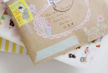 pretty packages. / by Lindsay @ Hello Hue