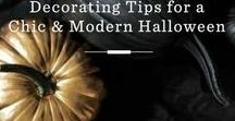 Holidays: Modern Halloween / Give your haunted Halloween home a modern look.