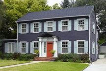 Home Ideas / Inside, outside, customize, add a pop of color.  Collect all the ideas.