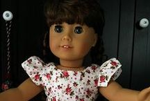 """Sew 4 Dolls / For Barbies (12"""") and larger dolls (18"""") like American Girl or Fancy Nancy / by Chris Boyles"""