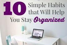 Organizing / by Katrina Mitchell