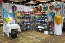 Shows and Fiber Festivals / Photos of our booths at various shows around the PNW.