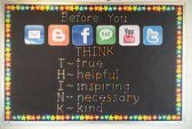 SL- bulletin board ideas  / by Louise Whyte