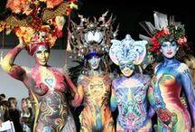 Body Painting Living Art America / #LivingArtAmerica, #BodyPainting #makeup,#ChelkoFoundation  Atlanta